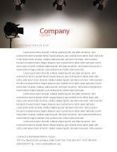 Careers/Industry: Photo Studio Letterhead Template #07606