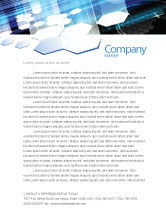 Technology, Science & Computers: Solar Panels Letterhead Template #07609