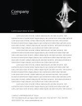 Religious/Spiritual: Reaching Hands Letterhead Template #07634