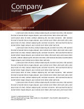Business Concepts: Flying Up Letterhead Template #07663