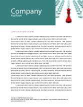 Education & Training: Chess King Ready To Fight Letterhead Template #07712