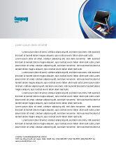 Utilities/Industrial: Computer Tech Help Letterhead Template #07726
