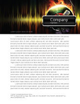 Careers/Industry: Music Energy Letterhead Template #07740