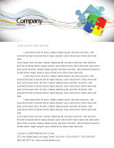 Consulting: Puzzle Solved Letterhead Template #07757