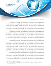 Technology, Science & Computers: Internet Concept Letterhead Template #07768
