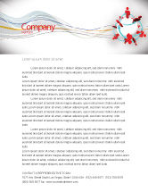 Careers/Industry: Peoples Network Letterhead Template #07795