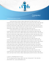 Telecommunication: Wireless Community Letterhead Template #07910