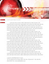 Global: World Theme Letterhead Template #08027