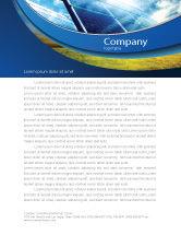 Technology, Science & Computers: Sonnenkollektoren in blauen farben Briefkopf Vorlage #08112