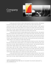 Technology, Science & Computers: Touchscreen Phone Letterhead Template #08125