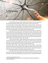 Medical: Neurons Networks Letterhead Template #08156