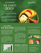 Food & Beverage: Banquet Newsletter Template #00725