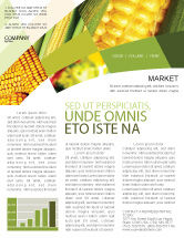 Food & Beverage: Maize Newsletter Template #00973