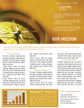 Business Concepts: Compass Newsletter Template #01284
