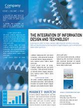 Utilities/Industrial: Mechanismus Newsletter Vorlage #01604