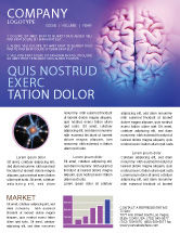 Medical: Brain Newsletter Template #01606