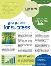 Agriculture and Animals: Peacock Newsletter Template #01711