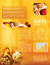 Holiday/Special Occasion: Modèle de Newsletter de décorations d'arbres de noel #01714