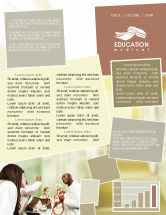 Education & Training: Anatomical Theatre Newsletter Template #01886