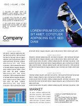 Careers/Industry: Career Development Newsletter Template #01894