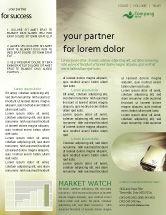 Business: Document Management Newsletter Template #01903