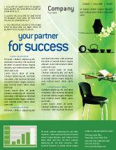 Careers/Industry: Privatplatz Kostenlose Newsletter Vorlage #01912