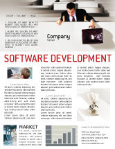 Careers/Industry: Profit Newsletter Template #01928