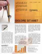Careers/Industry: Draftsman Newsletter Template #01937