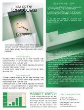 Business Concepts: 뉴스레터 템플릿 - 해결책 #01946