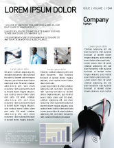 Telecommunication: Mail Box Newsletter Template #01972