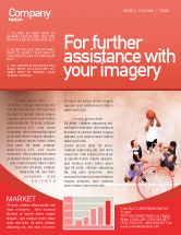 Sports: Streetball Newsletter Template #01979