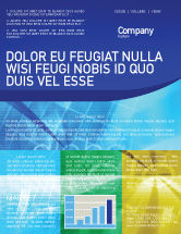 Business Concepts: E-business Newsletter Vorlage #01983