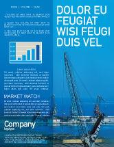 Utilities/Industrial: Port Newsletter Template #02081