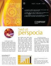 Abstract/Textures: Whirlpool Newsletter Template #02087