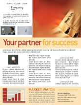 Business: Task List Newsletter Template #02185
