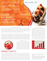 Food & Beverage: Banana Split Newsletter Template #02192