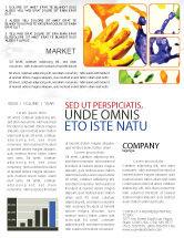 Education & Training: Paint Newsletter Template #02218
