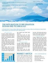 Nature & Environment: Fujiyama Newsletter Vorlage #02226