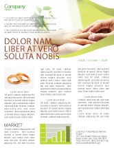 Jewelry newsletter templates in microsoft word adobe for Bridesmaid newsletter template