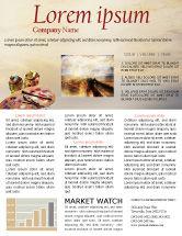 Art & Entertainment: Palette Newsletter Template #02287