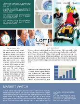 Medical: Reanimation Newsletter Template #02288