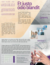 Consulting: Hands Newsletter Template #02292