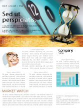 Consulting: Passing Time Newsletter Template #02296