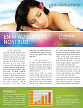 Holiday/Special Occasion: Spa Newsletter Template #02307