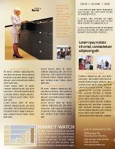 Business: Archiv Kostenlose Newsletter Vorlage #02341