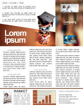 Education & Training: Academic Studies Newsletter Template #02359