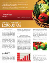 Food & Beverage: Grocery Newsletter Template #02427