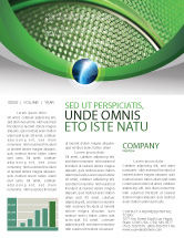 Abstract/Textures: Wire Mesh Newsletter Template #02492