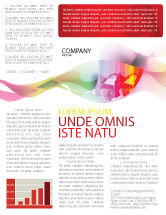 Nature & Environment: Global Warming Newsletter Template #02536