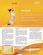 Business Concepts: Pet Newsletter Template #02559
